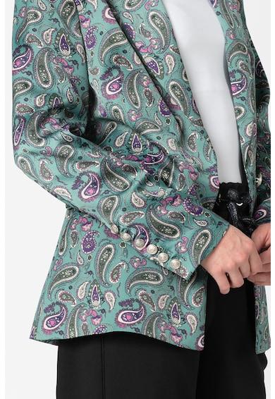 Silvian Heach Collection Sacou cu model paisley Turane Femei
