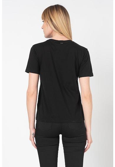 Silvian Heach Collection Tricou din bumbac cu imprimeu text Opicin Femei