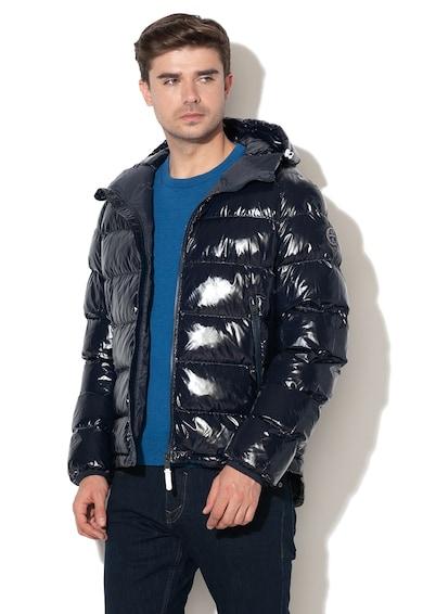 Napapijri Art bélelt télikabát kapucnival férfi