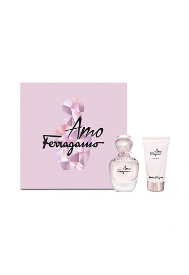 Salvatore Ferragamo Set  Amo Ferragamo, Femei: Apa de Parfum, 50 ml + Lotiune de corp, 100 ml Femei