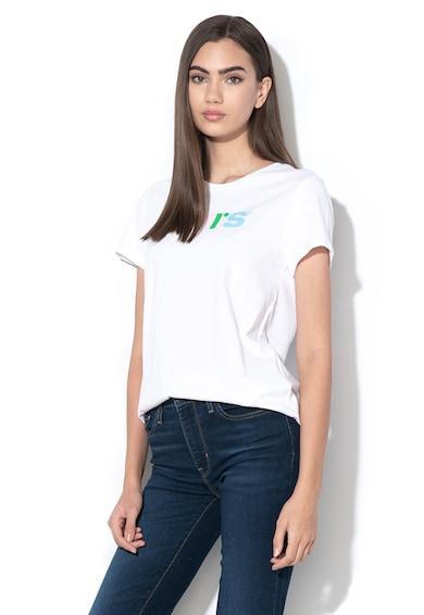 Levi's Tricou cu imprimeu floral si logo Femei