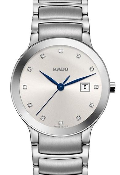 Rado Ceas analog decorat cu diamante Femei