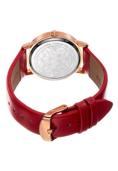 AKRIBOS XXIV Ceas rotund decorat cu cristale Femei