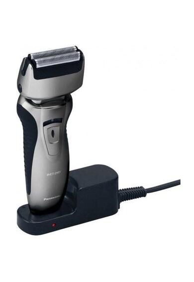 Panasonic Aparat de ras  , 2 lame, Wet & Dry, Motor liniar, senzor inteligent,acumulator Ni-Mh, Gri Barbati