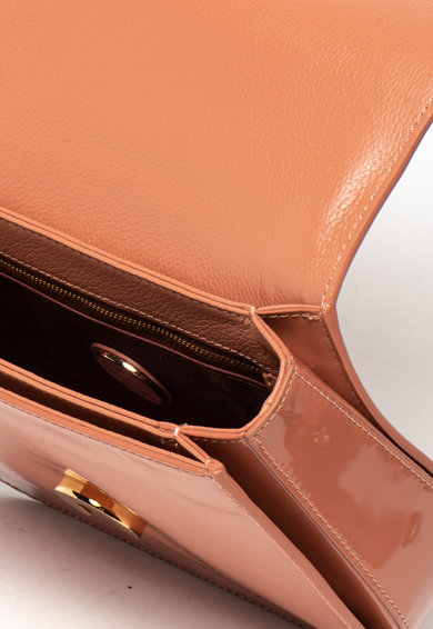 COCCINELLE Чанта Craquante от лачена кожа Жени