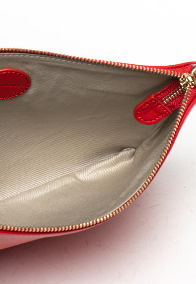 COCCINELLE Кожена чанта през рамо с лого Жени
