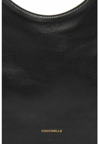 COCCINELLE Кожена чанта Alpha с лого Жени