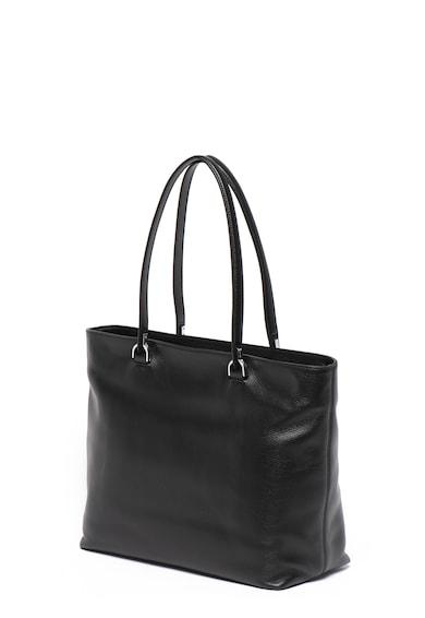 COCCINELLE Кожена чанта Keyla с лого Жени