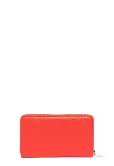COCCINELLE Кожен портфейл с метало лого Жени