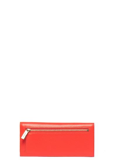 COCCINELLE Кожен портфейл с метално лого и капаче Жени