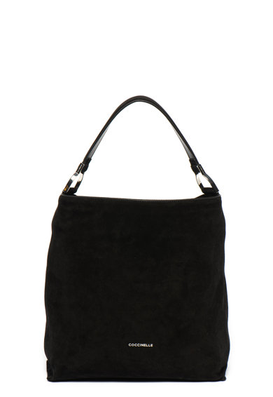 COCCINELLE Велурена хобо чанта Keyla Жени