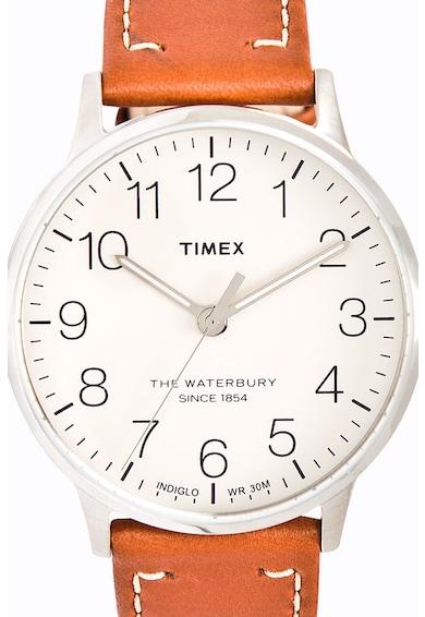Timex Ceas cu o curea de piele Waterbury Classic, 40 mm Barbati