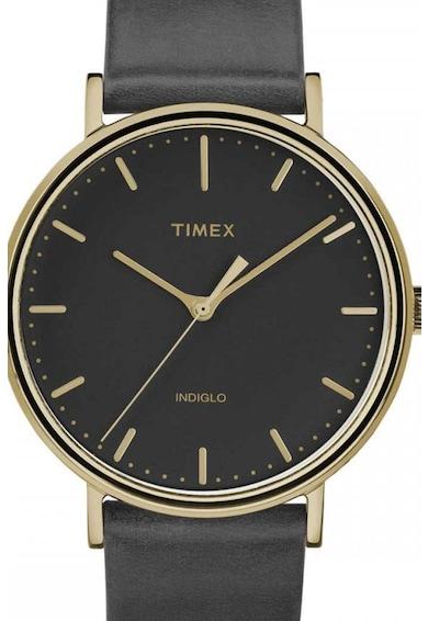 Timex Ceas unisex cu o curea de piele Barbati