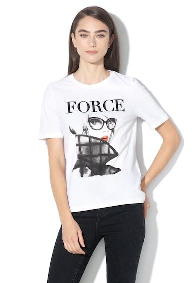 Only Tricou cu imprimeu grafic Mode Femei
