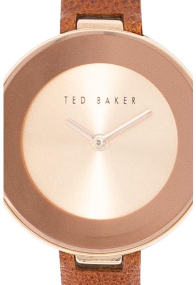 Ted Baker Ceas cu o curea de piele Lenara, 28 mm Femei