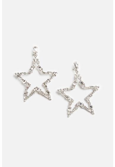 Motivi Cercei in forma de stea decorati cu cristale Femei