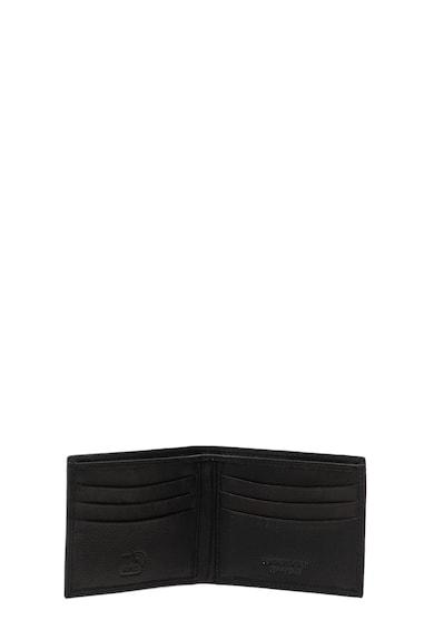 Pierro Poggi Кожен портфейл с релефно лого Мъже