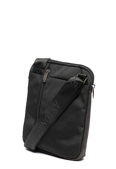 Pierre Cardin Чанта през рамо с джобове с цип Мъже