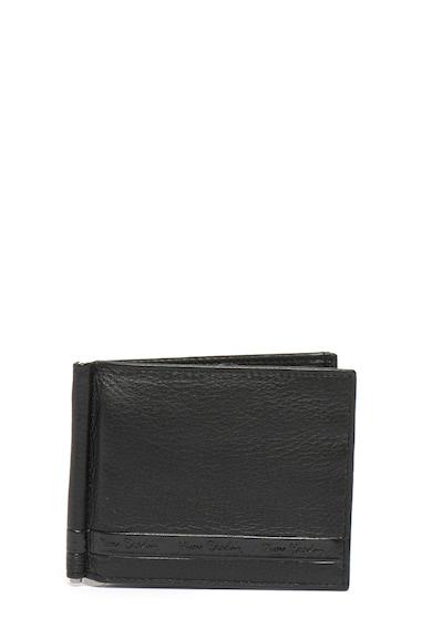 Pierre Cardin Portofel pliabil de piele cu clips pentru bancnote Barbati