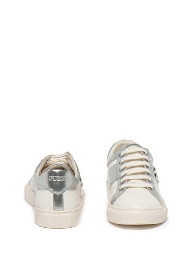 Guess Pantofi sport cu garnituri de piele Fete