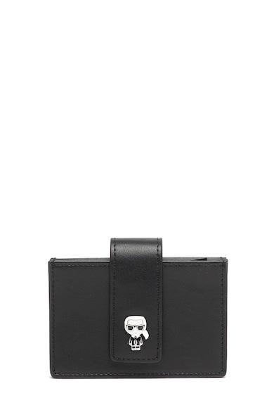 Karl Lagerfeld Portcart de piele Ikonik Femei