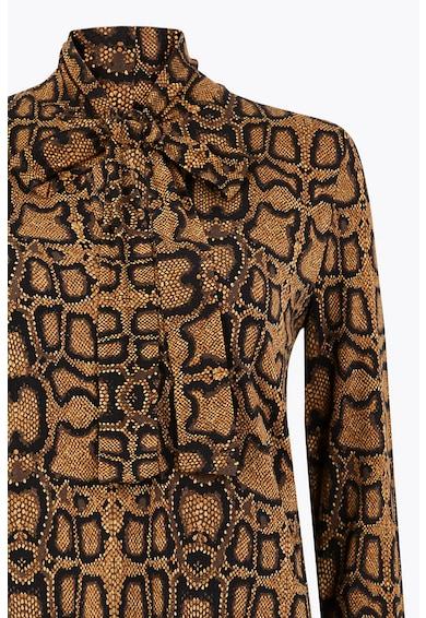 Marks & Spencer Bluza cu model si funda din panglici Femei