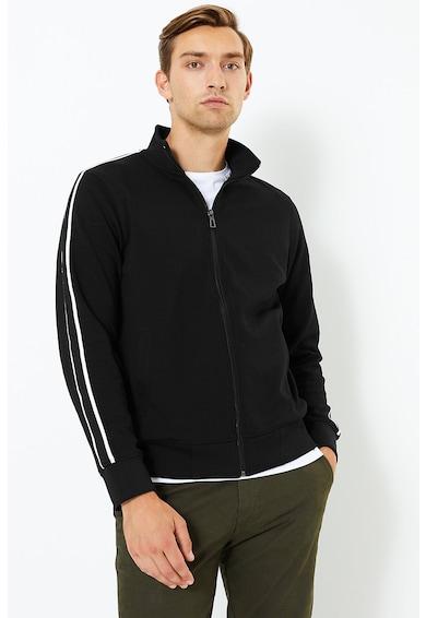 Marks & Spencer Bluza sport cu fermoar si detalii contrastante Barbati