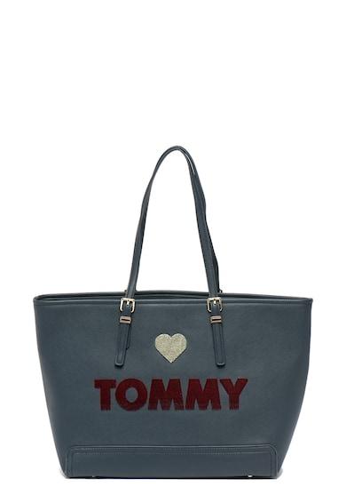 Tommy Hilfiger Geanta shopper din piele ecologica Honey Femei