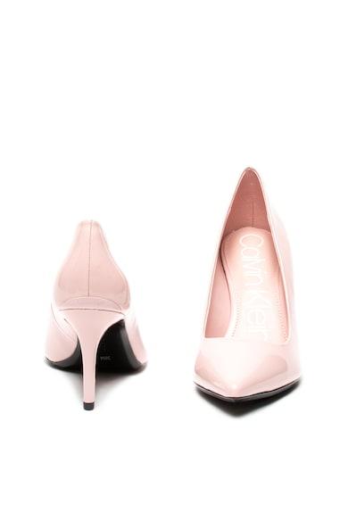 Calvin Klein Pantofi stiletto de piele lacuita Gazelle Femei