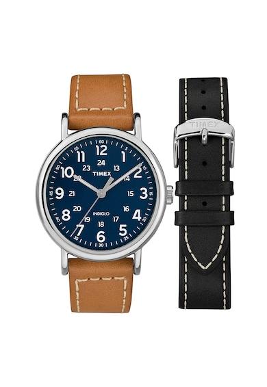 Timex Ceas analog cu o curea intersanjabila Barbati
