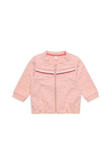 Esprit Bluza sport cu fermoar si aspect texturat Fete