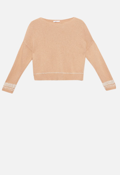 Motivi Pulover din amestec de lana, cu garnituri de lurex Femei