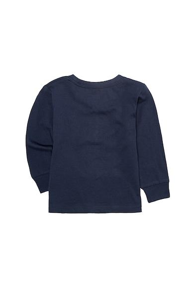 Levi's Kids Bluza sport cu decolteu la baza gatului si imprimeu logo Baieti