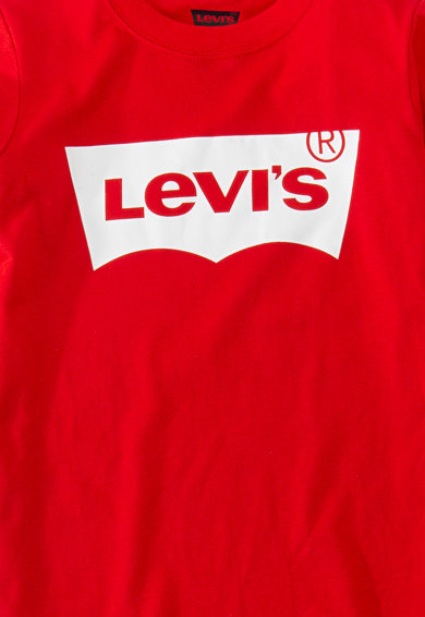 Levi's Kids Bluza cu imprimeu logo Baieti