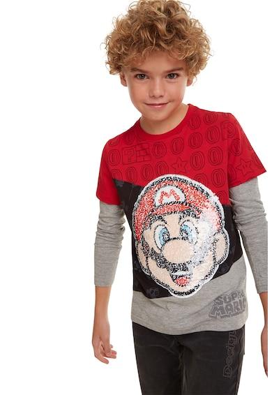 DESIGUAL Bluza cu aspect 2in1 Baieti