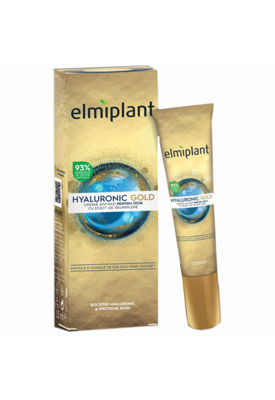 Elmiplant Crema pentru ochi  Hyaluronic Gold, Femei, 15 ml Femei