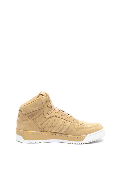 Adidas ORIGINALS Pantofi sport mid-high de piele nabuc Attitude Revive Barbati