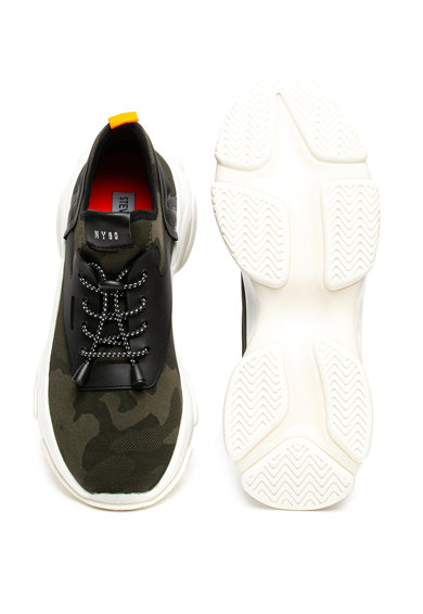Steve Madden Pantofi sport slip-on cu model camuflaj Isles Barbati