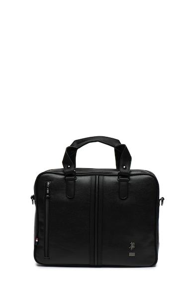U.S. Polo Assn. Чанта от еко кожа за лаптоп Мъже