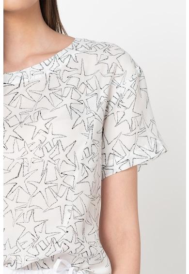 Max&Co Bluza din amestec de modal cu model cu stele Dispensa Femei