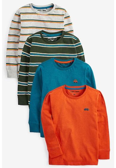 NEXT Set de bluze cu imprimeu, 4 piese Baieti