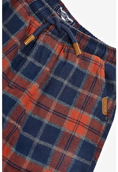 NEXT Pantaloni sport in carouri cu snur pentru ajustare Baieti