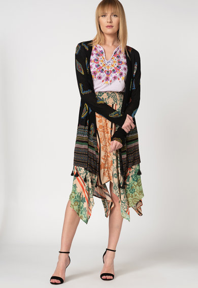 DESIGUAL Cardigan cu model geometric Chill Femei