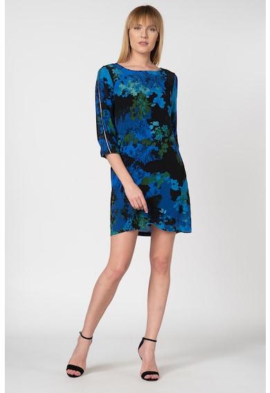 DESIGUAL Rochie vaporoasa tip camasa, cu imprimeu abstract Tennessee Femei