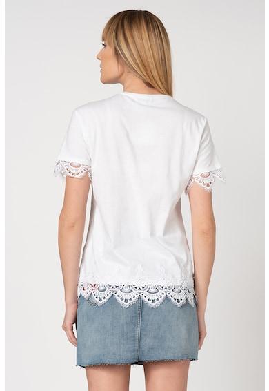 DESIGUAL Tricou cu garnituri din dantela crosetata Gante Femei
