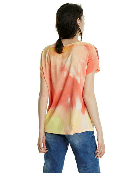 DESIGUAL Tricou cu imprimeu floral Femei