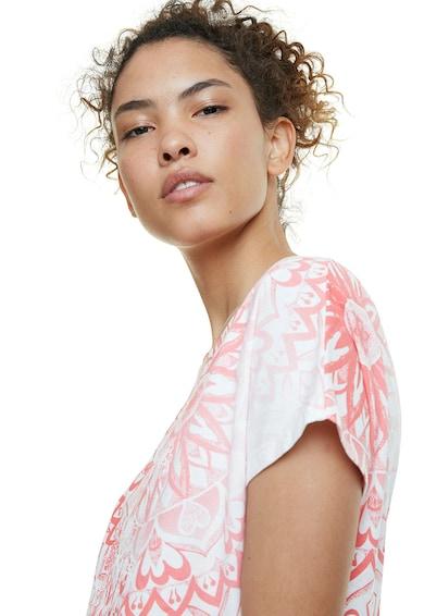 DESIGUAL Tricou cu imprimeu mandala Femei