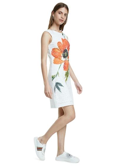 DESIGUAL Rochie din dantela cu imprimeu floral Femei