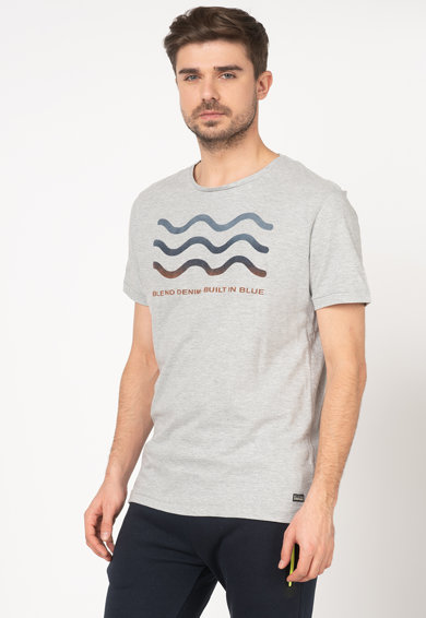 BLEND Tricou regular fit cu imprimeu Barbati