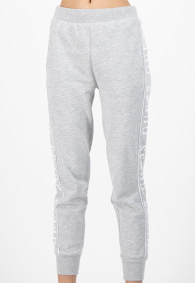 Guess Pantaloni sport cu logo lateral Femei